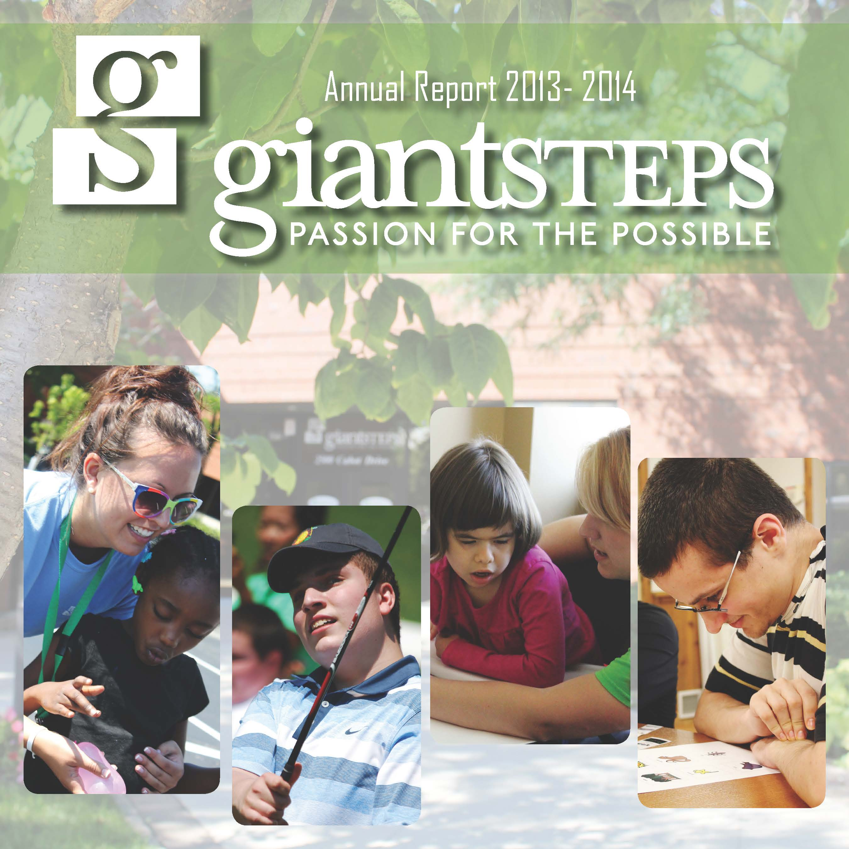Annual Report 2013   2014 Cover
